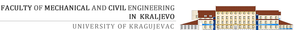 Faculty of Mechanical and Civil Engineering in Kraljevo
